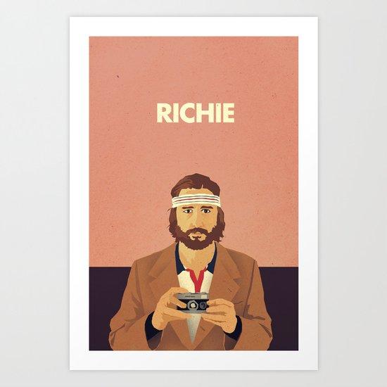 Richie Art Print