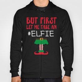 Funny christmas elf design - perfect gift Hoody