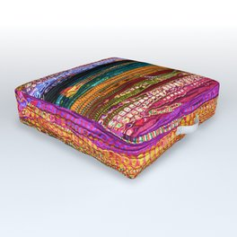 Indian Colors Outdoor Floor Cushion