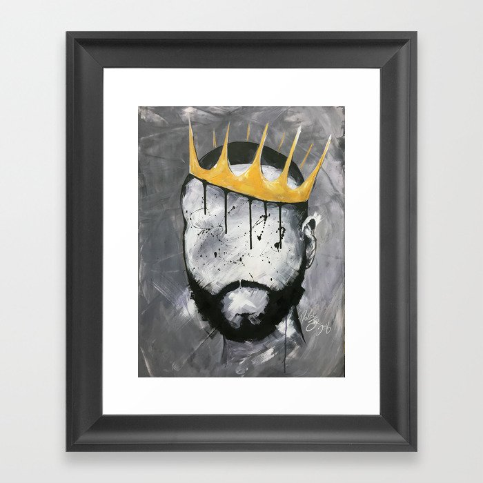 Naturally King Gerahmter Kunstdruck
