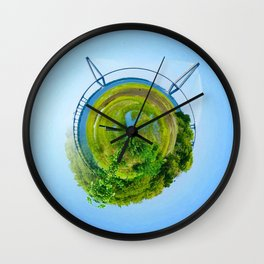 Ravenel Bridge Wall Clock