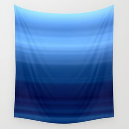 Blue Motion Blur Wall Tapestry