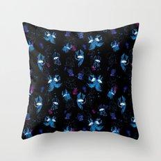 Disco pattern Throw Pillow