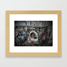 Graffiti - the Boiler Framed Art Print