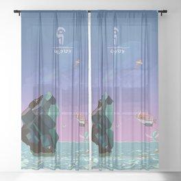 Magic Crystal Sheer Curtain