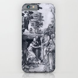 Lucas van Leyden The Raising of Lazarus iPhone Case
