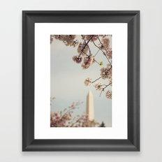 Spring in DC I Framed Art Print
