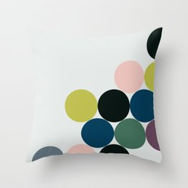 cluster || chill Throw Pillow
