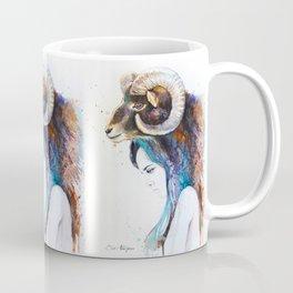 Mouflon Girl Coffee Mug