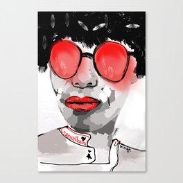 Red Shades  Canvas Print