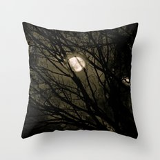 It's a full moon, so what? Throw Pillow