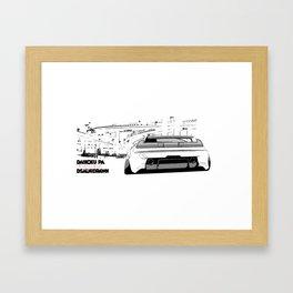 nsx print Framed Art Print