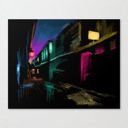 Light Stores Canvas Print