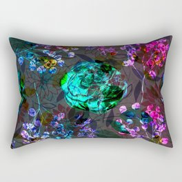 floral ivb Rectangular Pillow