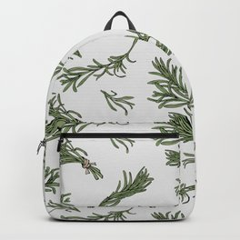 Rosemary rustic pattern Backpack