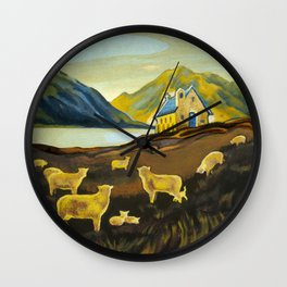 The Good Shepherd, Lake Tekapo Wall Clock
