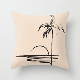 Abstract Landscpe Throw Pillow