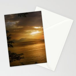 Sunset at Lismore Island Stationery Cards