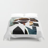 dylan Duvet Covers featuring Bob Dylan Font Colour by Fligo