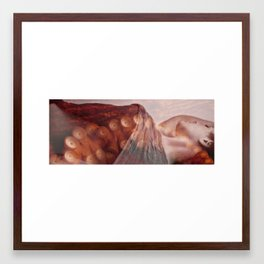 Double Exposure 1 Framed Art Print