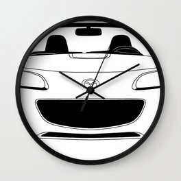 NC Miata/MX-5 Wall Clock