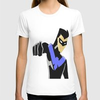 nightwing T-shirts featuring Nightwing by Queenmissy