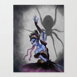 Spider Dancer Canvas Print