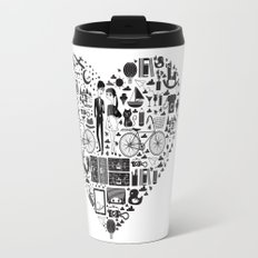 LIKES PATTERNS Travel Mug
