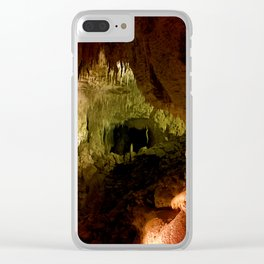 Waitomo Caves Clear iPhone Case
