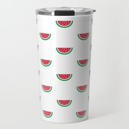 Watermelons Print Travel Mug