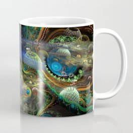The Bioluminoidal Fractalization Process Coffee Mug