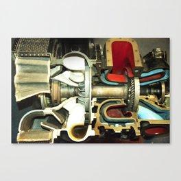 jetaway Canvas Print