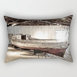 Chesapeake Workboat Rectangular Pillow
