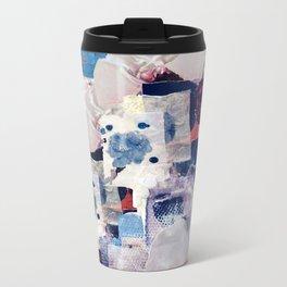 patchy collage Metal Travel Mug