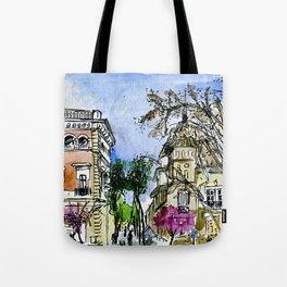 Plaça de la Virreina, Barcelona Tote Bag
