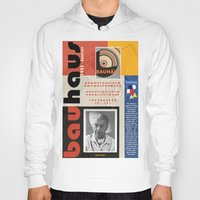 bauhaus Hoodies featuring Bauhaus Poster by ThatGeorgeGuy