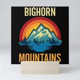 Bighorn Mountains Sunset Mini Art Print