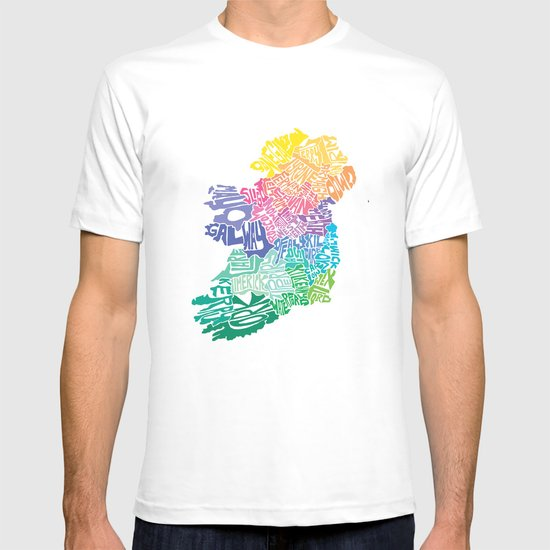 Typographic Ireland T-shirt
