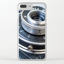 Photo of the old Soviet camera Clear iPhone Case