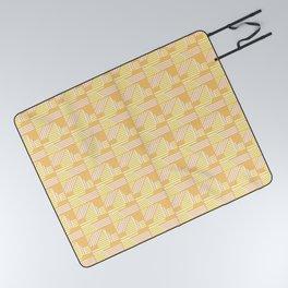 Geo Sunrise Picnic Blanket