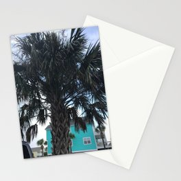 Palm trees in Myrtle Beach Stationery Cards