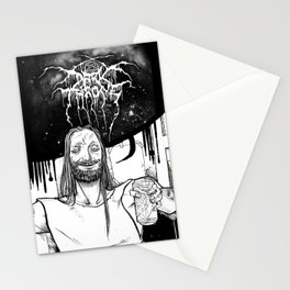 "Fenriz Darkthrone ""make it primitive maaaan"" Stationery Cards"