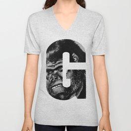 G is for Gorilla Unisex V-Neck