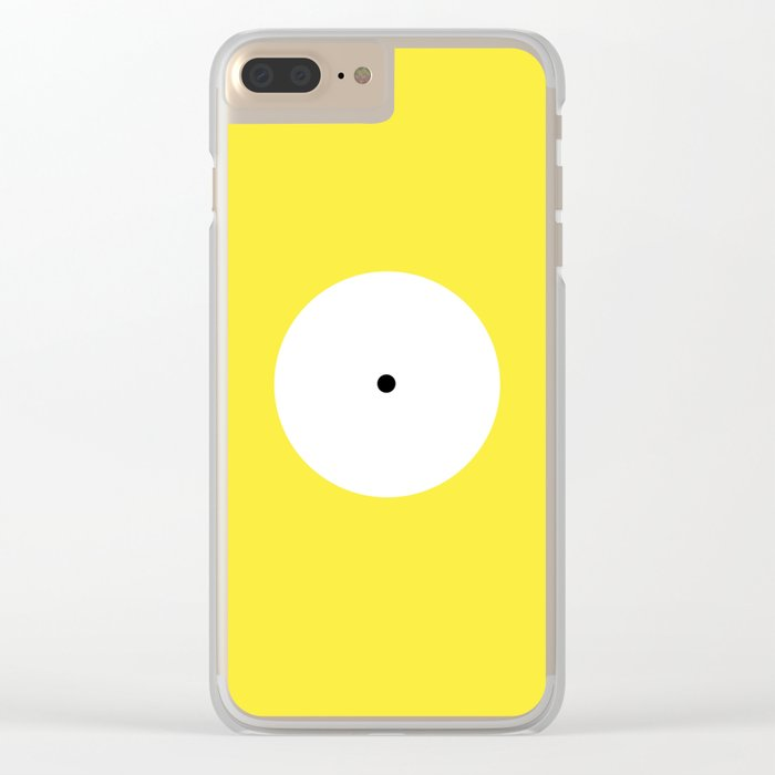 This is the point Clear iPhone Case