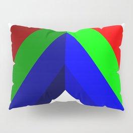 RGB Vector Shape Pillow Sham