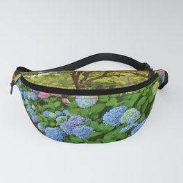 Colorful Pom-Poms Fanny Pack