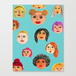 Nasty Women Unite Canvas Print