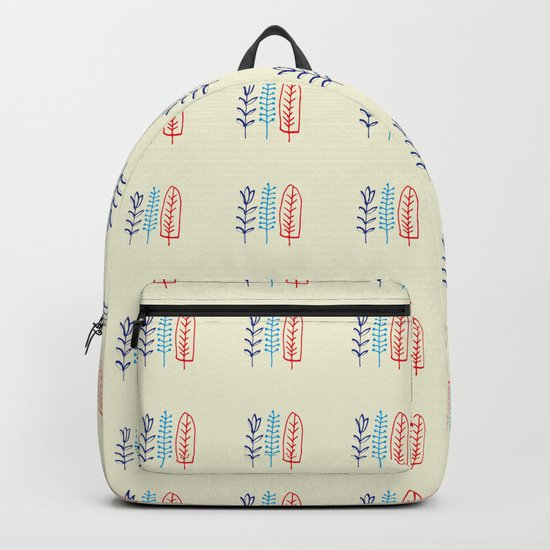 Fall and winter leaves Backpack