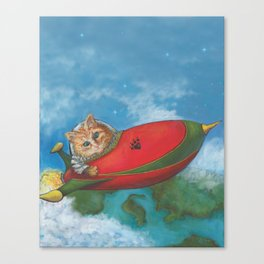 Major Tom Searches for Mouse Island Canvas Print