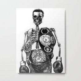 Mike Tyson Metal Print